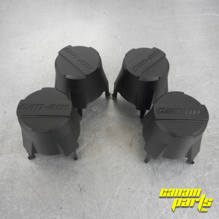 New Oem Wheel Center Cap Set Can Am Parts Guy