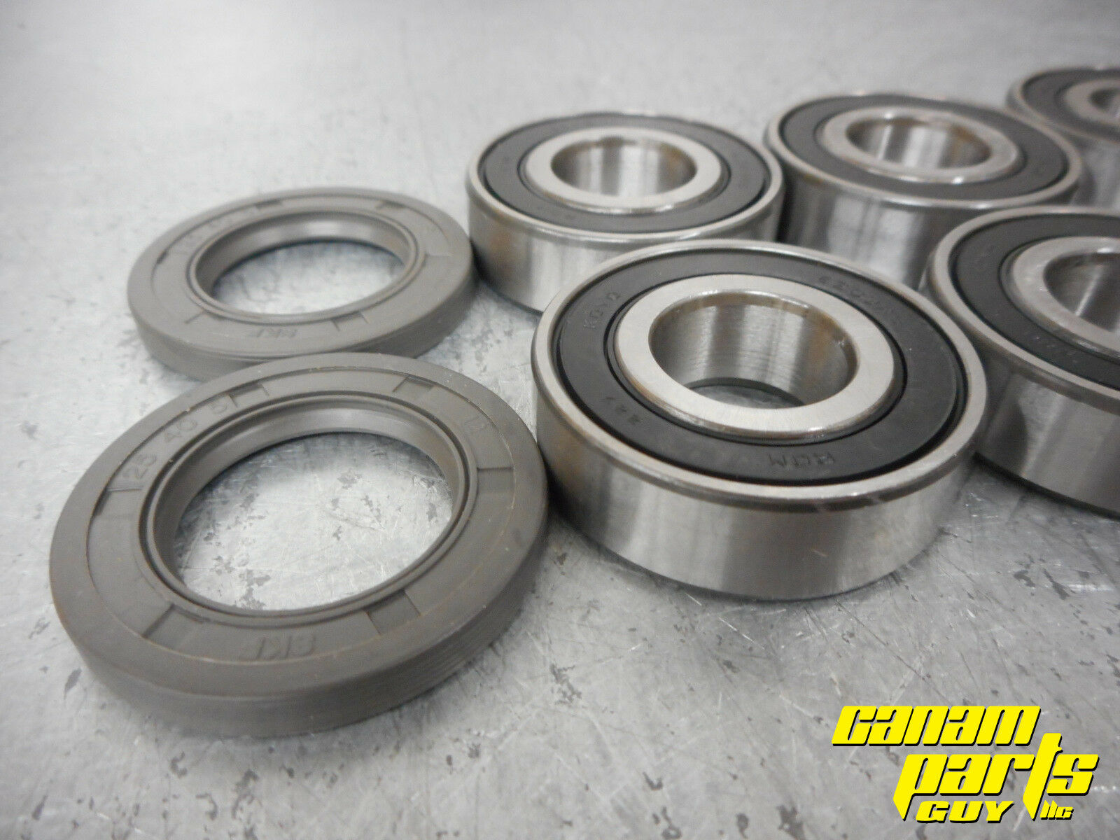 Can Am Outlander Renegade Rear Trailing Control Arm Bearing Seal Kit