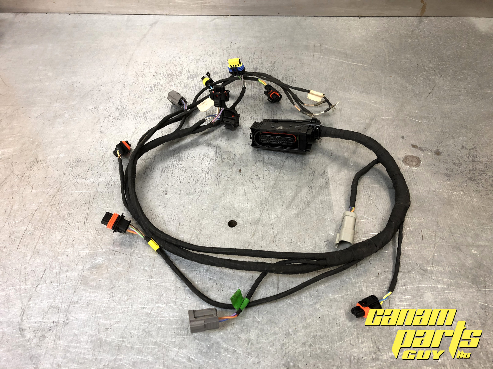 2006 2007 2008 Can-Am 500 650 800 XT Engine Wire Harness A ...